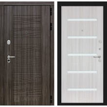 Входная дверь Лабиринт SCANDI 01 - Сандал белый