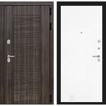 Входная дверь Лабиринт SCANDI 07 - Белое дерево