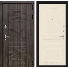 Входная дверь Лабиринт SCANDI 03 - Крем софт