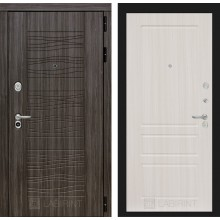 Входная дверь Лабиринт SCANDI 03 - Сандал белый