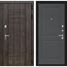 Входная дверь Лабиринт SCANDI 11 - Графит софт