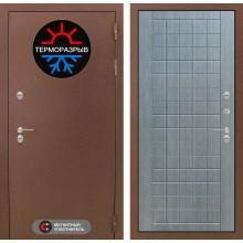 Входная дверь Лабиринт Термо Магнит 09 - Лен сильвер грей
