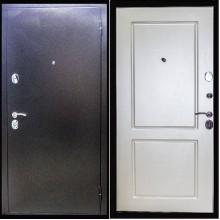 Входная дверь ZMD Хамелеон Белый шёлк