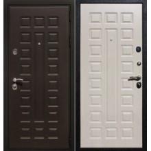 Входная дверь ZMD Премиум 183 Венге/Белая сосна