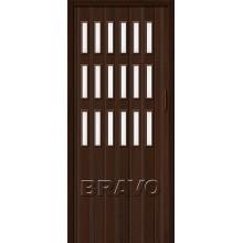 Складные двери Браво-018 Венге