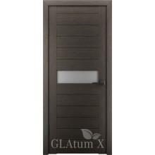 Межкомнатная дверь Грин Лайн GLAtum X4