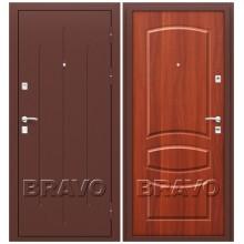 Входная дверь КНР Стройгост 7-2 М-11 Итальянский Орех