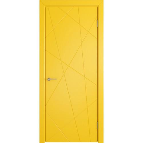 Межкомнатная дверь FLITTA Эмаль Серия Stockholm ВФД