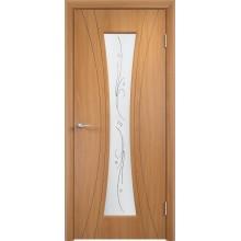 Межкомнатная дверь Верда Богемия стекло