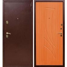 Входная металлическая дверь Лекс 1А (Антик медь-Клен красный)