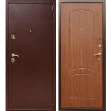 Входная металлическая дверь Лекс 1А (Антик медь-Береза мореная)