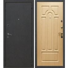 Входная металлическая дверь Лекс 1А (Черный муар-Дуб натуральный)