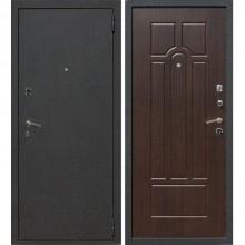 Входная металлическая дверь Лекс 1А (Черный муар-Венге)