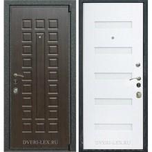 Входная металлическая дверь Лекс 4А Mottura (Венге / Белый ясень)