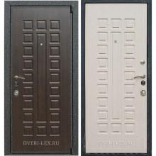 Входная металлическая дверь Лекс 4А Mottura (Венге / Беленый дуб)