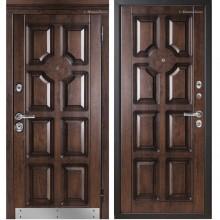 Входная дверь Металюкс М707/2 с капителью